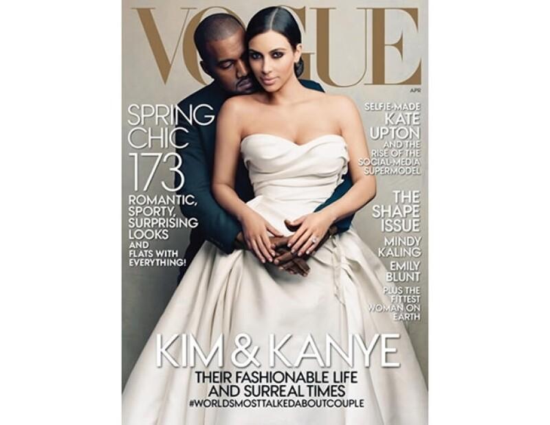 Hubo una gran controversia con Vogue y la decisión de Anna Wintour por ponerlos en portada.