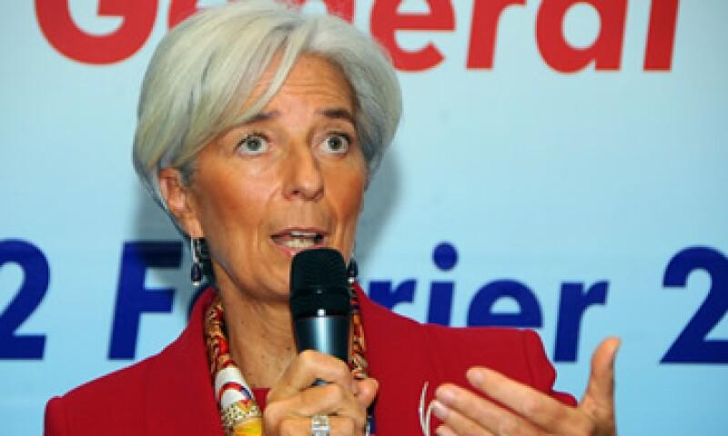 Christine Lagarde destacó la participación del país en los organismos financieros internacionales. (Foto: AP)