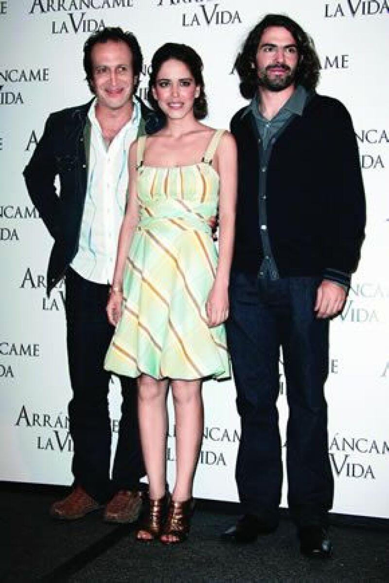 Los actores se enamoraron mientras rodaban la película Arrancame la Vida.
