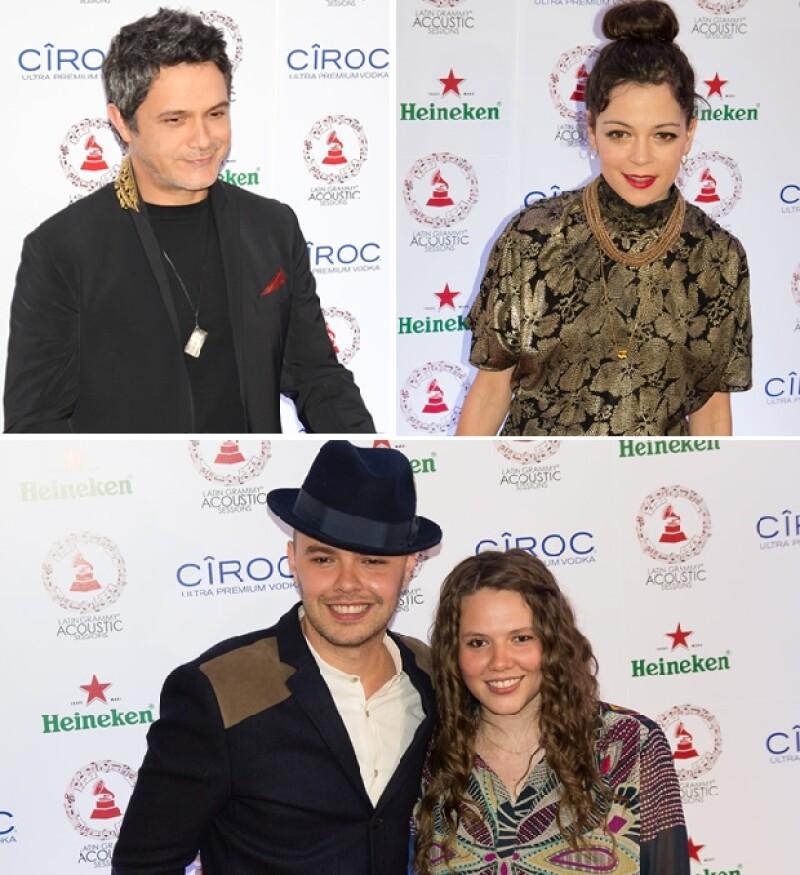 Junto al dueto Jessie & Joy, el cantante español ofreció una velada muy musical en el Centro Cultural Roberto Cantoral.