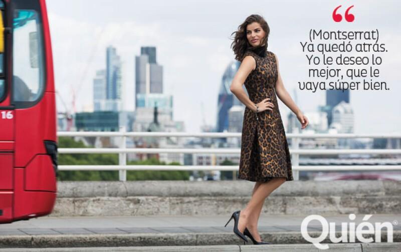 Vestido Carolina Herrera; zapatos Gucci; puksera Lanvin. Maquillaje Benoit Dumont para Nars Cosmetics. Peinado Paula Villanueva. Asistente Samantha Quereshi.