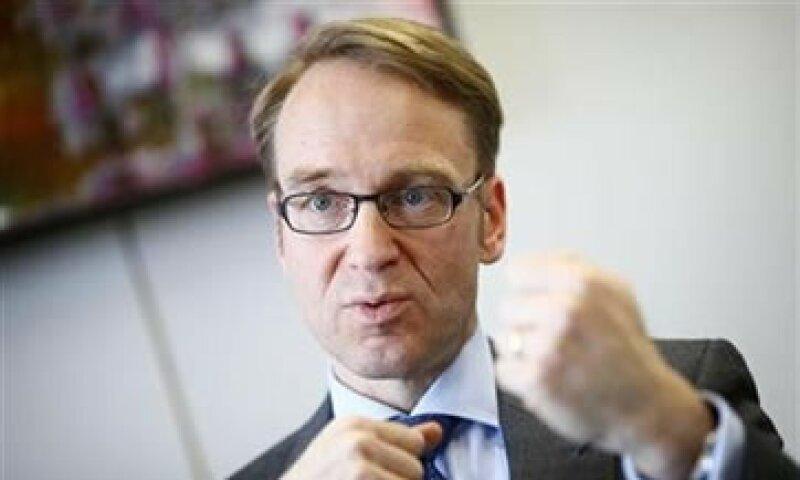 Jens Wiedman, jefe del Bundesbank, indicó que el debate sobre los eurobonos le irrita. (Foto: Reuters)