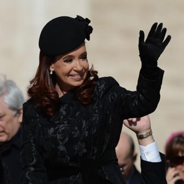 Cristina Fernández, misa inauguración Francisco, plaza San Pedro