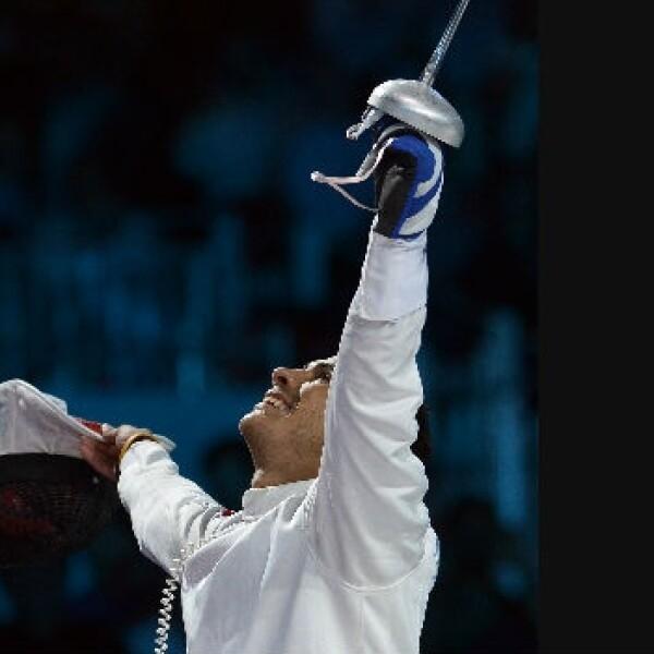 Rubén Limardo, venezuela, oro, olimpico