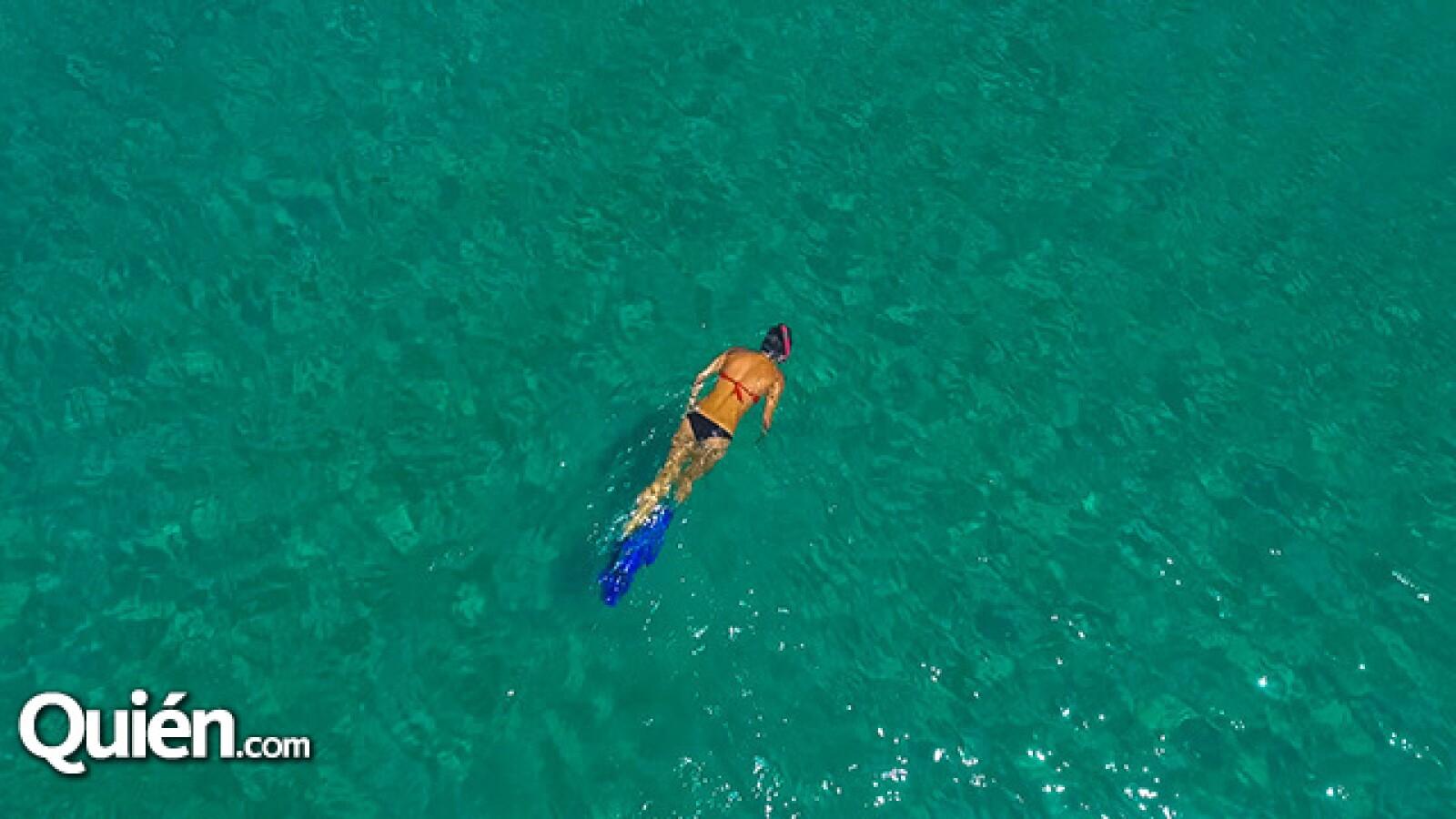 Vista aerea snorkel