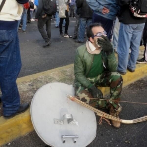 protesta _toma de posesión_ Peña 9