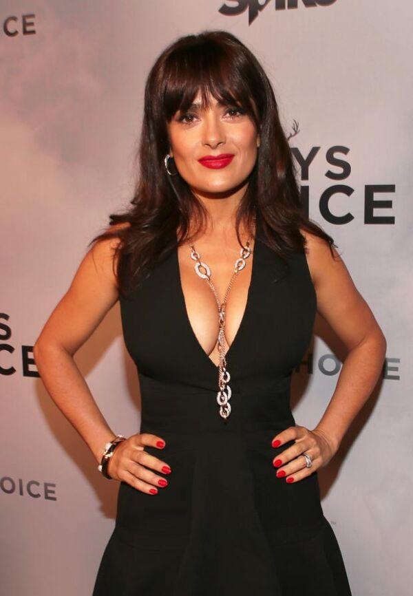 El padre de Salma es de origen libanés, y desde siempre la actriz se ha sentido orgullosa de sus raíces.