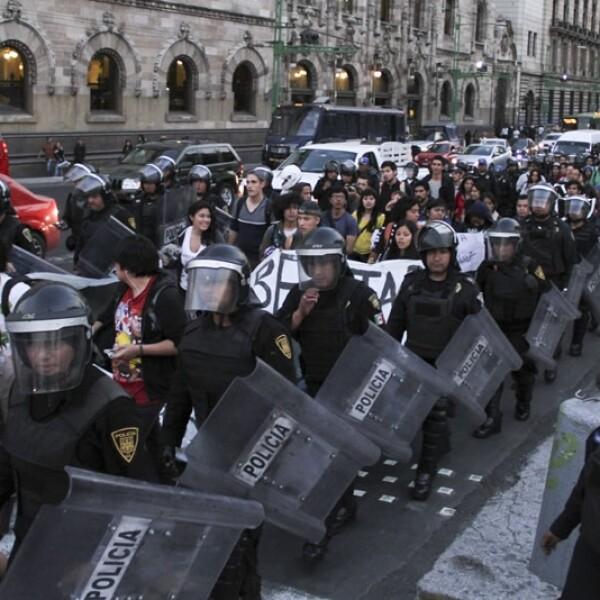 marcha ciudad de mexico presos politicos1