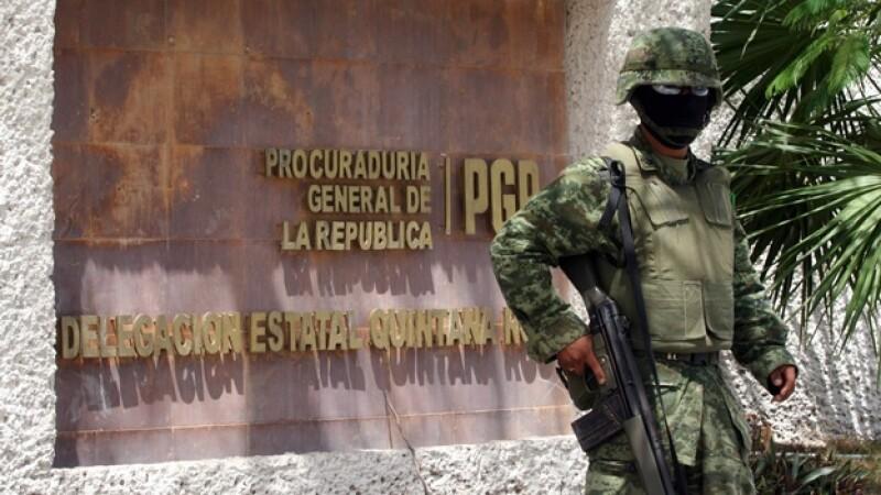 instalaciones de la pgr en cancun