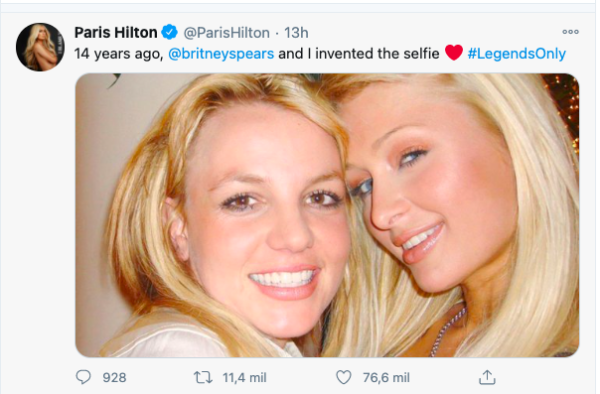 Britney Spears y Paris Hilton.