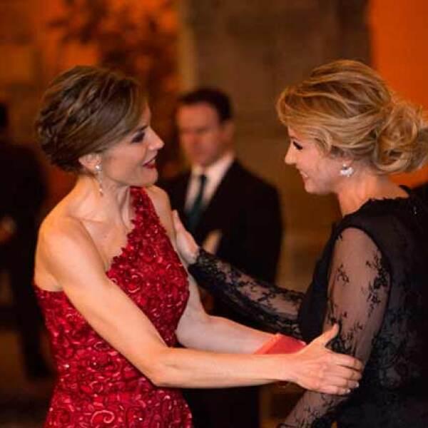 Cena en Palacio Nacional en honor a los reyes de España, Felipe VI y Letizia.