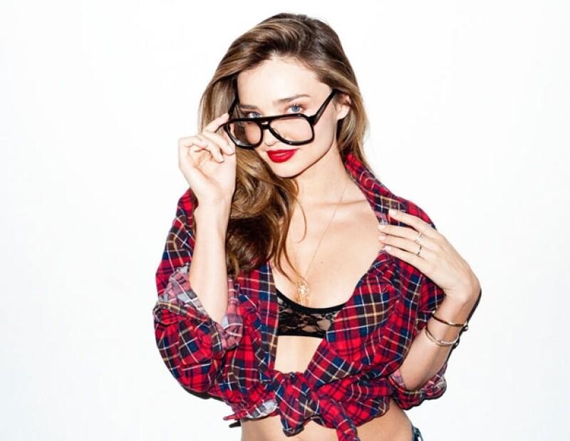 Miranda lució muy sensual en las fotos.