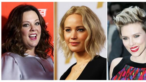 Las actrices mejor pagadas
