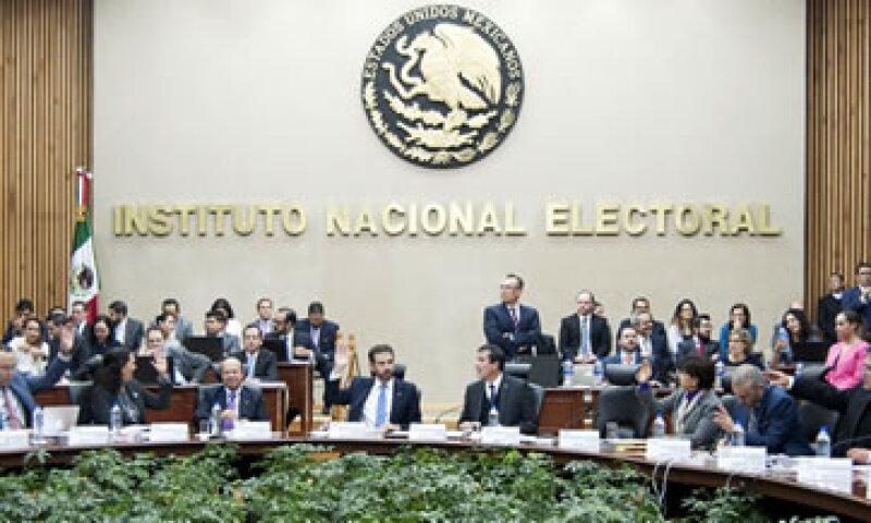 El Consejo General del INE en la discusión de la CDMX. (Foto: Cuartoscuro)