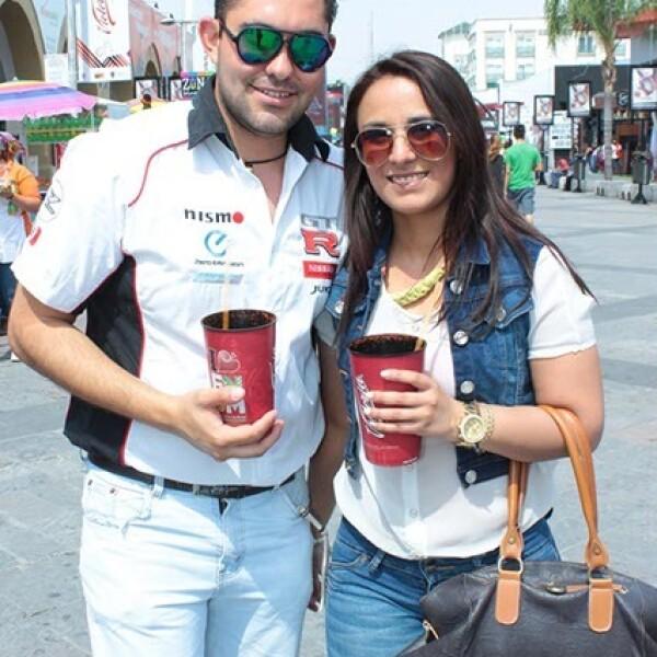 Christian Vázquez Moreno y Karen Lizeth López