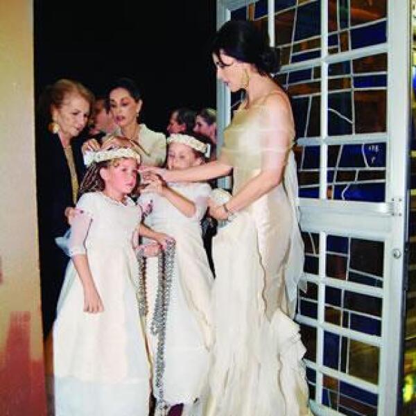 Aspecto de la boda