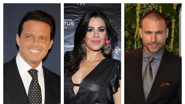 Luis Miguel, Luz Elena González y Rafael Amaya