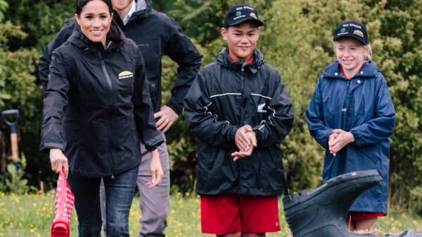 Harry Meghan Welly Wanging Nueva Zelanda