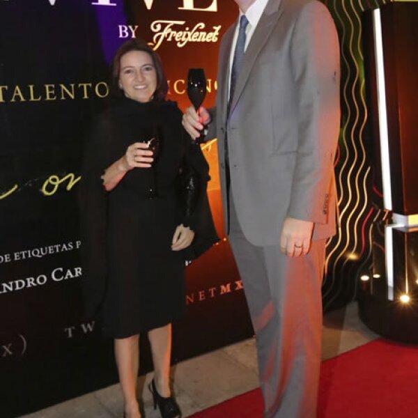 Gabriela Trigueros y Luciano Besoy