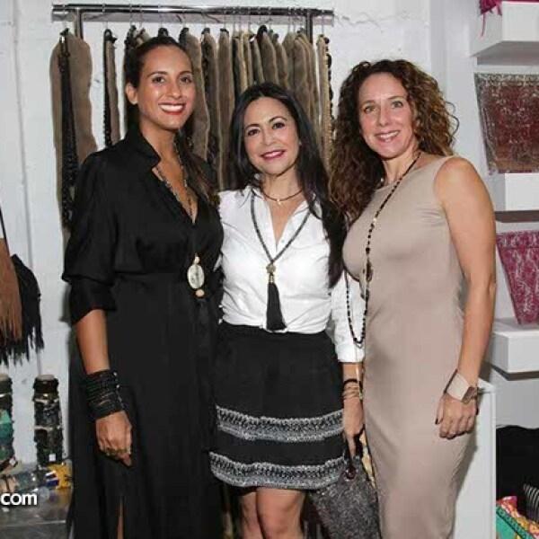 Eriza Peña,Leila Chávez y Michelle Enríquez