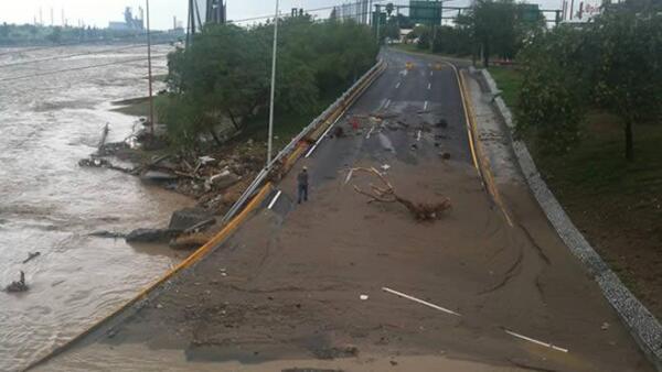 Inundaci�n Monterrey