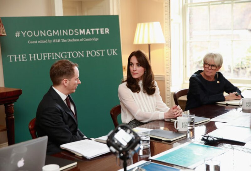 Periodista por un día, uno de los nuevos trabajos de la duquesa de Cambridge.