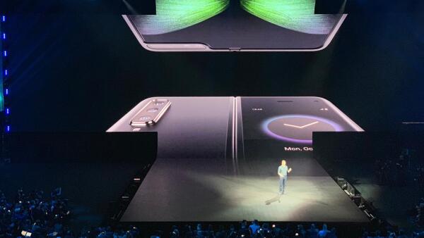 Samsung presenta el Galaxy Fold, su primer celular flexible