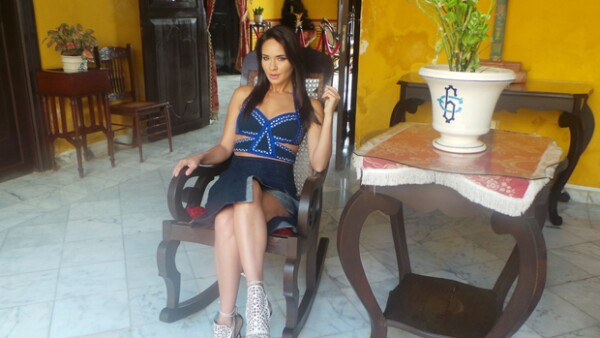 """La guapa actriz estuvo este fin de semana en Campeche para presentar la película """"Ilusiones S.A."""", ciudad donde aprovechó para confesar que ya piensa en tener hijos."""