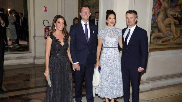 Mary de Dinamarca, Federico de Dinamarca, el príncipe Joaquín y su esposa Marie