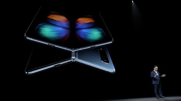 Presentación del Teléfono Galaxy Fold de Samsung