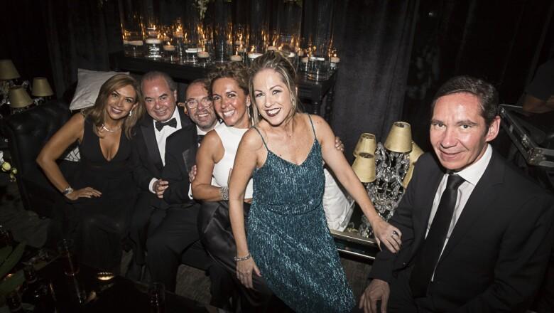 Christina Alegre, Marco Reyner, Javier y Marcela Uhthoff, Mónic