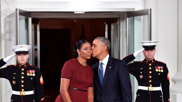 Barack y Michelle Obama aniversario