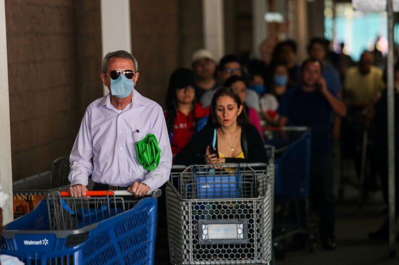 supermercados coronavirus mexico