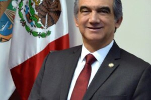 El senador de Morena Américo Villarreal es secretario de la Comisión de Relaciones Exteriores América del Norte.