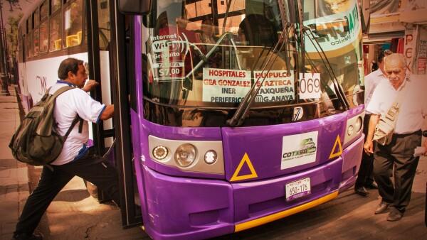 seguridad transporte público