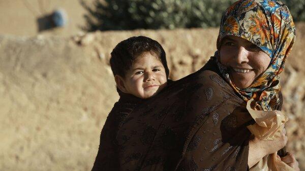 La salida de EI de algunos pueblos ha traído alegría para algunos pobladores de Siria.