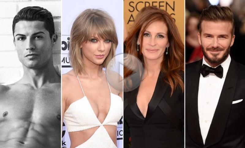 ¿Qué tienen en común Taylor Swift, Julia Roberts y David Beckham? Ellos como muchas más celebs han asegurado alguna parte de su cuerpo.