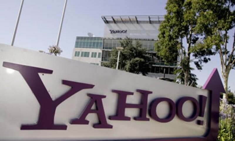 Yahoo espera ventas entre 1,125 y y 1,235 millones de dólares en el último trimestre del año. (Foto: AP)