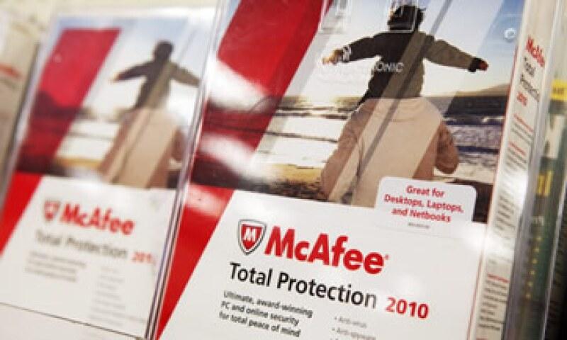 McAfee es una de las mayores compañías de antivirus en el mundo.    (Foto: Getty Images)