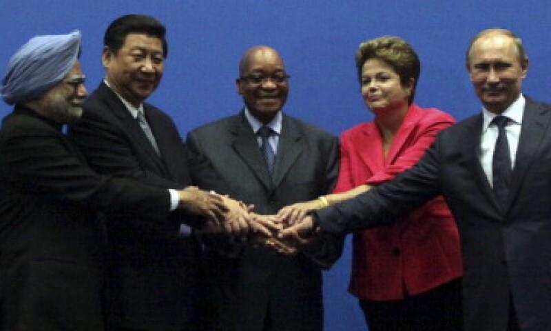 Los presidentes y primeros ministros de los países BRICS se ven vulnerables ante el fin del QE de la Fed. (Foto: Getty Images)