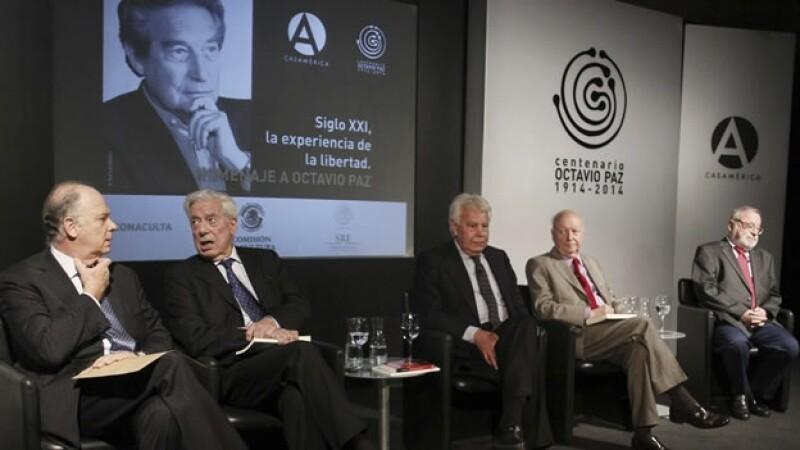 Vargas Llosa Krauze Octavio Paz