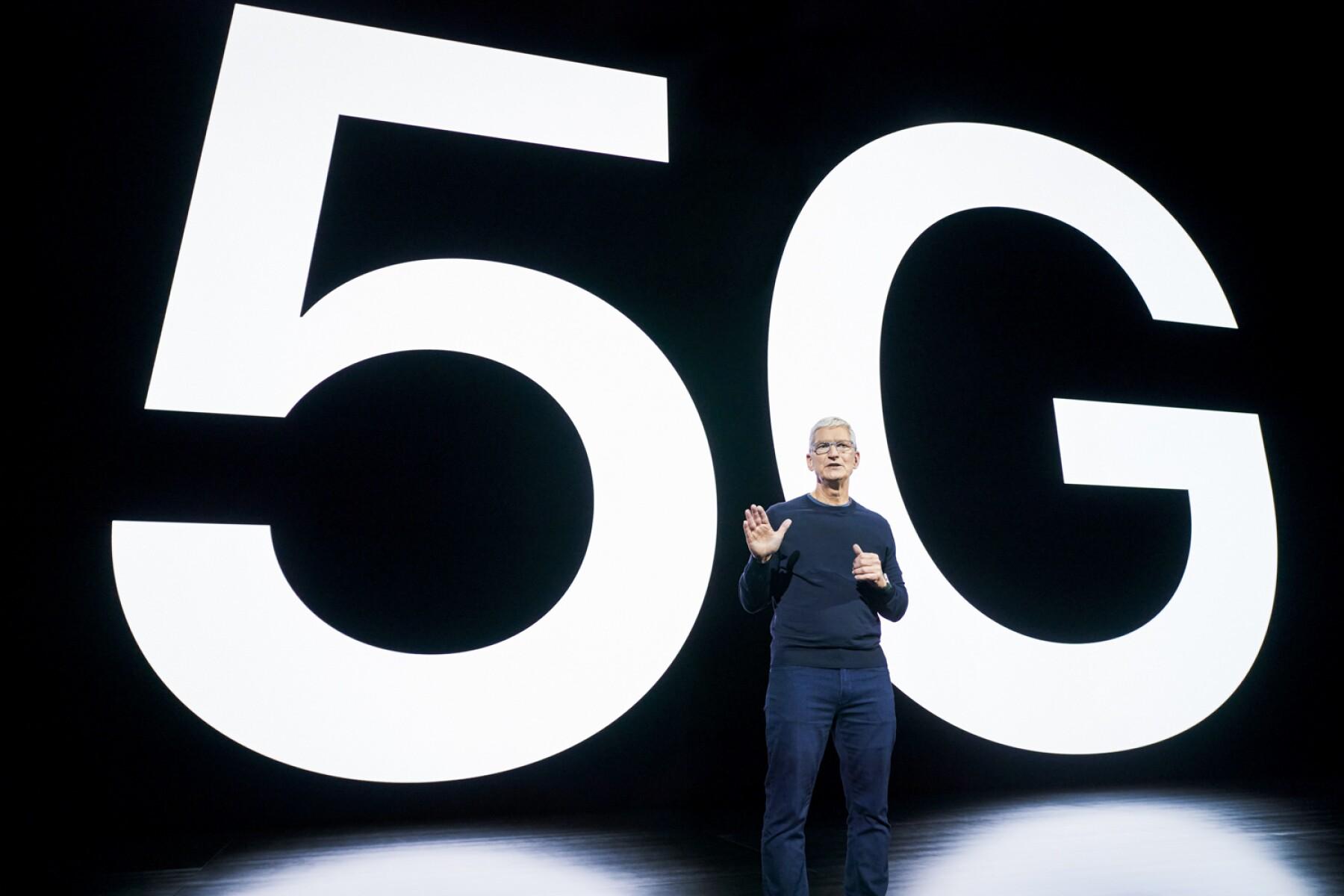 El primero con 5G.