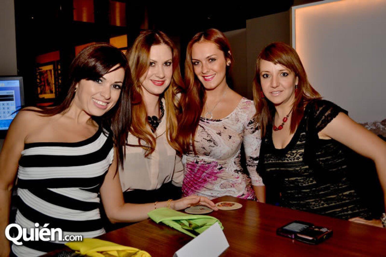 Rome Molina, Michelle Santoscoy,Cynthia de León y Sandra Martínez