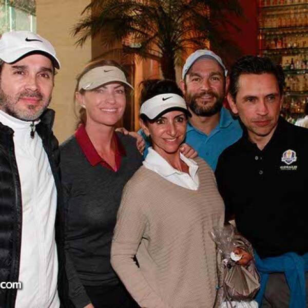 Francisco Montaño,Paulina Fajer,Renata Chain,Pascual Aranalde y Óscar Villarreal
