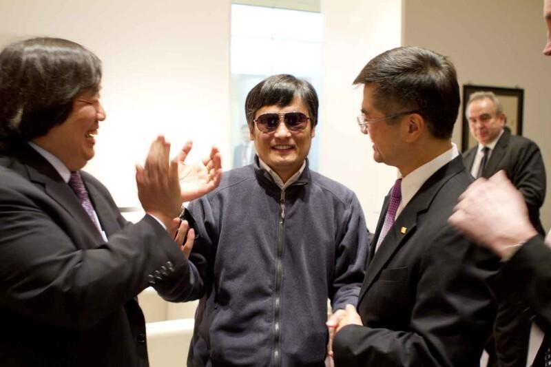 Chen Guangcheng embajada EU