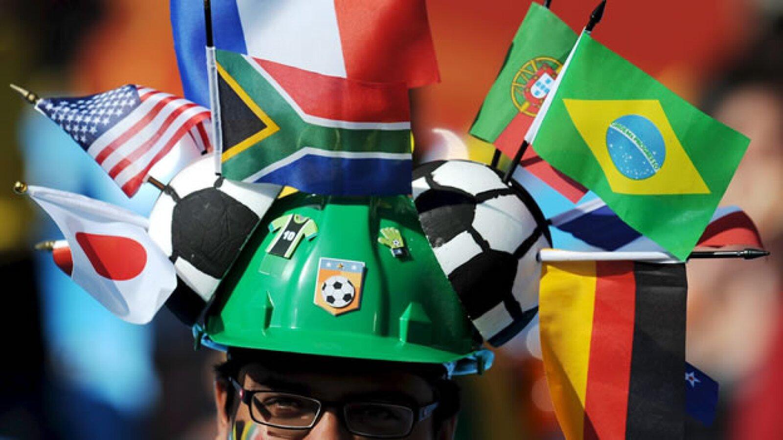 Aficionado en el Mundial de Sudafrica