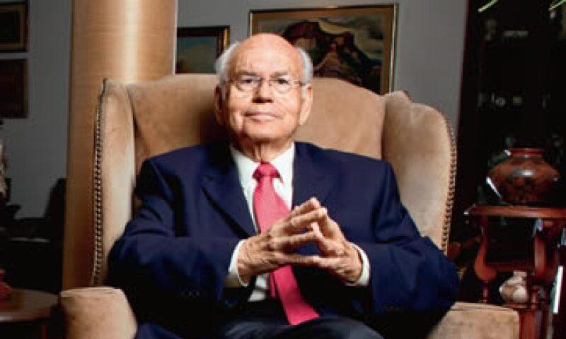 Rubén Aguilar Monteverde fue director de la Asociación Nacional de Banqueros de México de 1976 a 1977. (Foto: Alfredo Pelcastre/MondaPhoto)