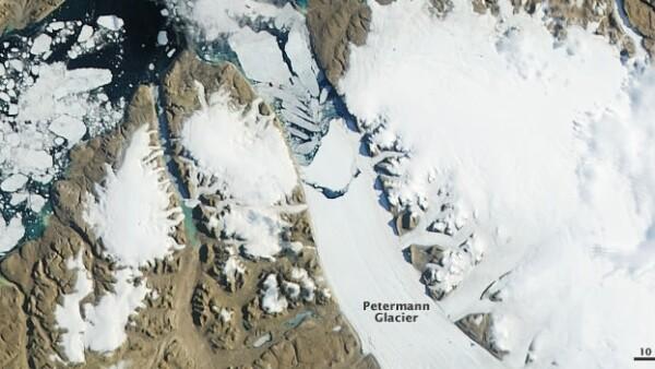 glaciar petermann groenlandia