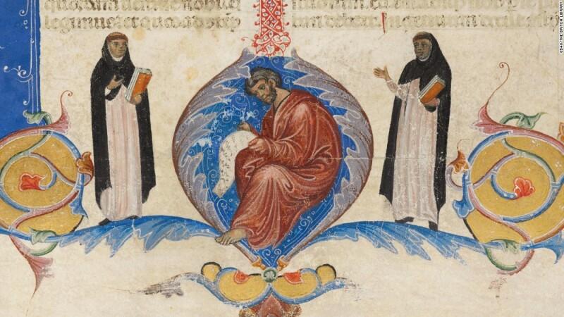 Una biblia boloñesa (aprox. 1280-1300), Boloña, Italia