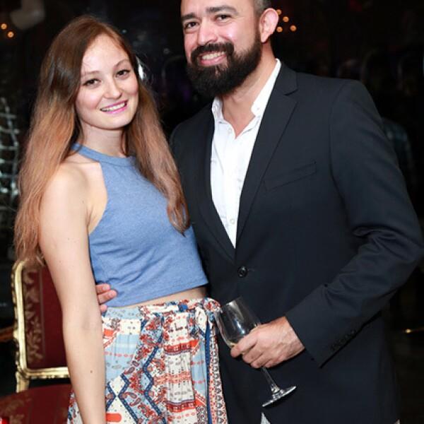 Andie Garza Batiz y Abraham García